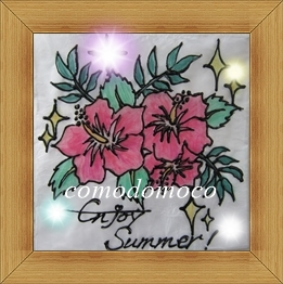 Enjoy Summer ステンドグラスアート