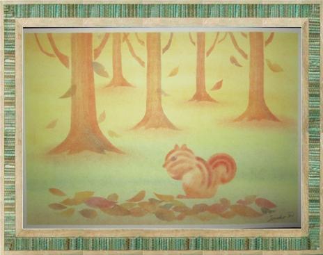 森の中のリス きままハウスアート