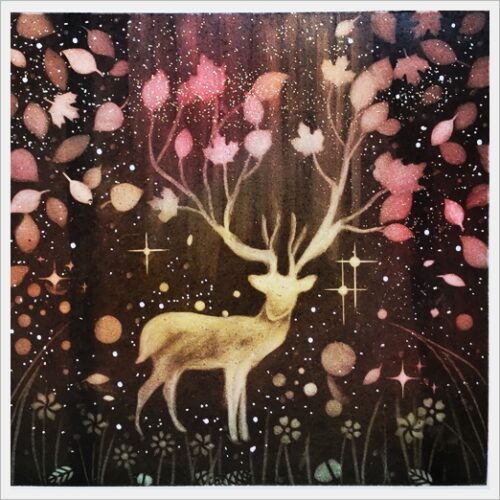 Illusive Deer fall